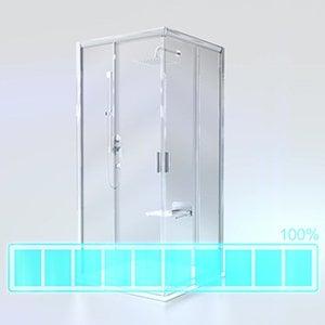 Душевой уголок и дверь Ravak BLPSZ