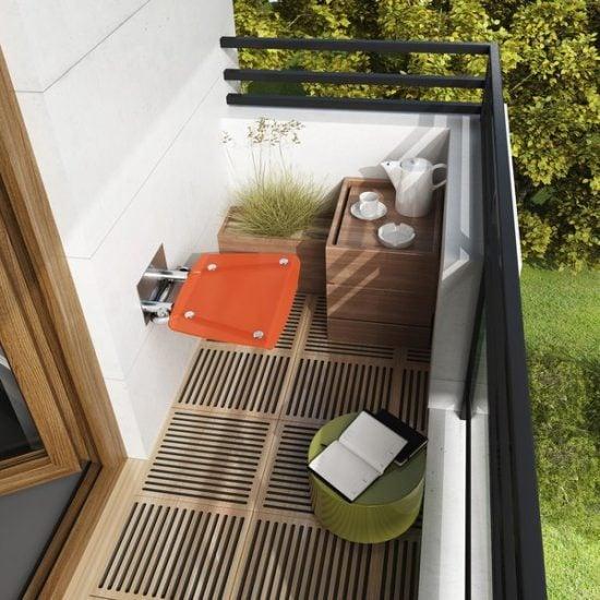 ovo b orange balkon