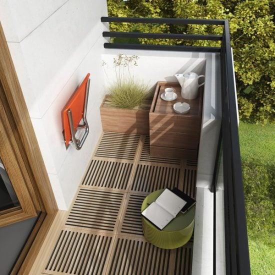 ovo b orange balkon sklopene