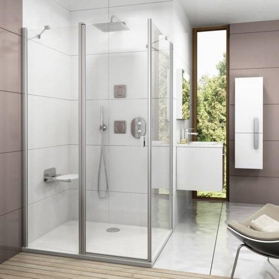 ravak shower set chrome
