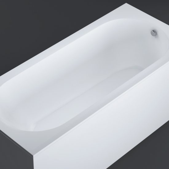 NILO5110 bianco mat 2